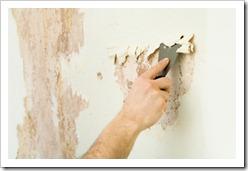 Как снять краску со стен, металла, бетона, окон