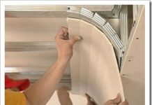 устройство потолка из гипсокартона