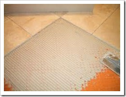 Укладка плитки на бетонное основание