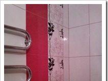 Варианты раскладки плитки в ванной