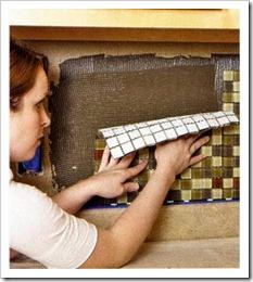 Как положить мозаичную плитку