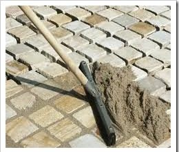 Заделка швов тротуарной плитки