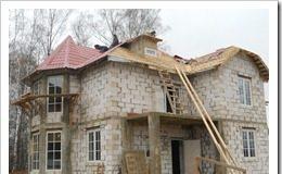 Какой нужен фундамент под дом из пеноблоков