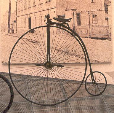 Велосипед для езды по забору