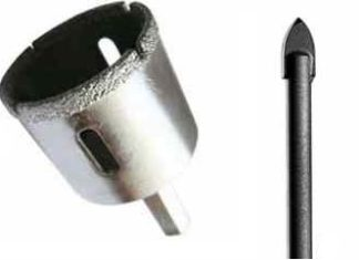 Чем сверлить керамическую плитку