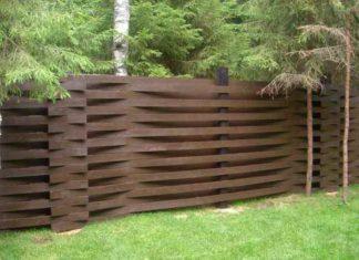 Каким цветом покрасить забор