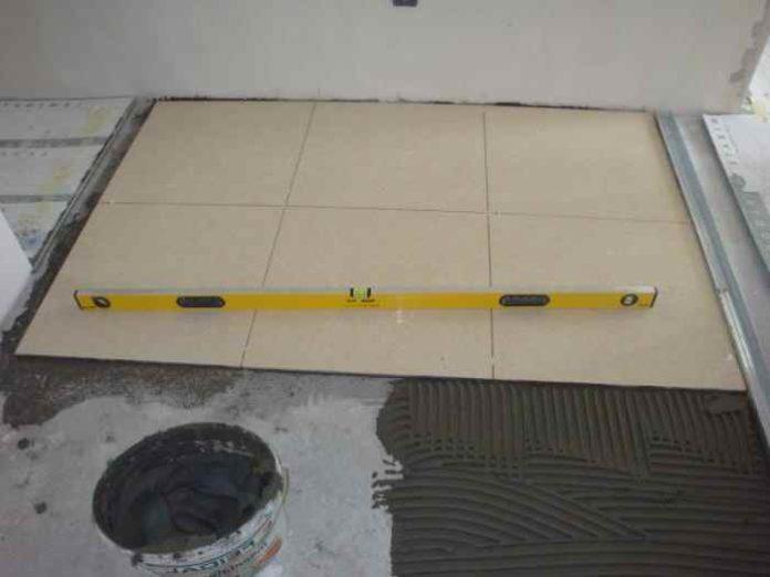 Укладка плитки на ГВЛ: инструкция к работе