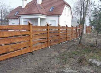 Забор из досок своими руками